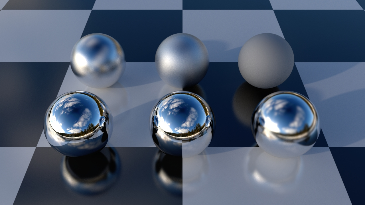 The layering library mila ui beta shaders elemental ray for Mirror vray material