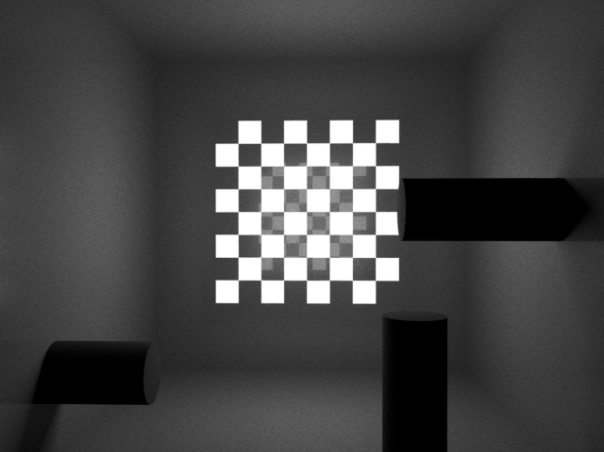Checkerboard Procedural along with alpha transparency.