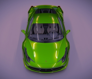 Car courtesy of Holger (Kzin) rendered in Softimage
