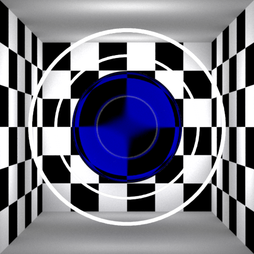 Transmissive Distance (tinted blue)